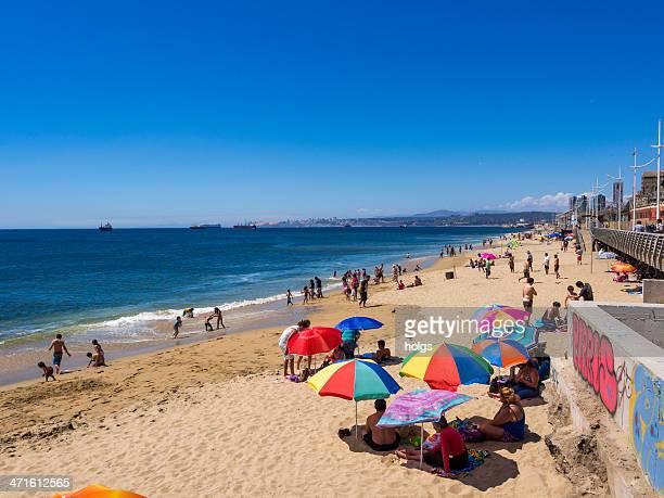 Playa de valparaíso, Chile