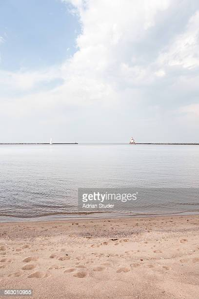 beach at wisconsin point - iowa_county,_wisconsin stock pictures, royalty-free photos & images