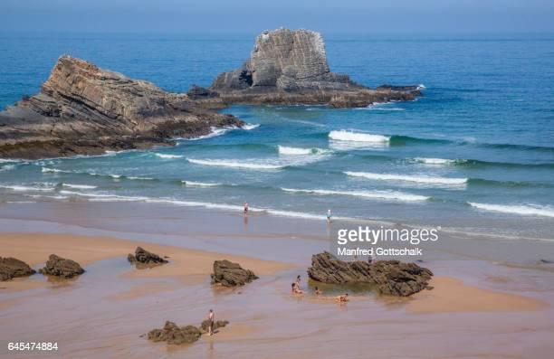 beach at Zambujeira do Mar