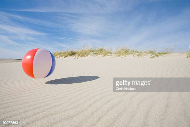 beach ball - bouncing ball stock photos and pictures