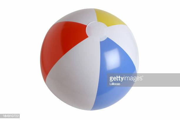Beach Ball Series on white (clipping path)