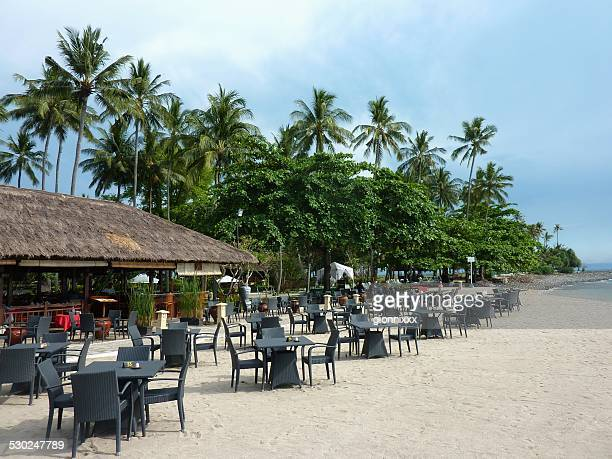 Beach bar in Senggigi - Lombok, Indonesia