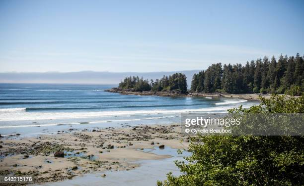 Beach between Ucluelet and Tofino