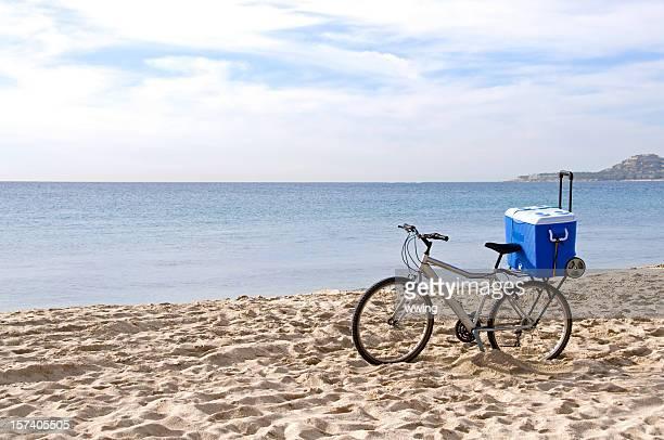 Beach Bike with Cooler