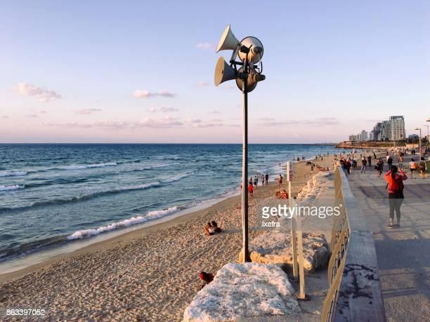 Beach boulevard Tel Aviv
