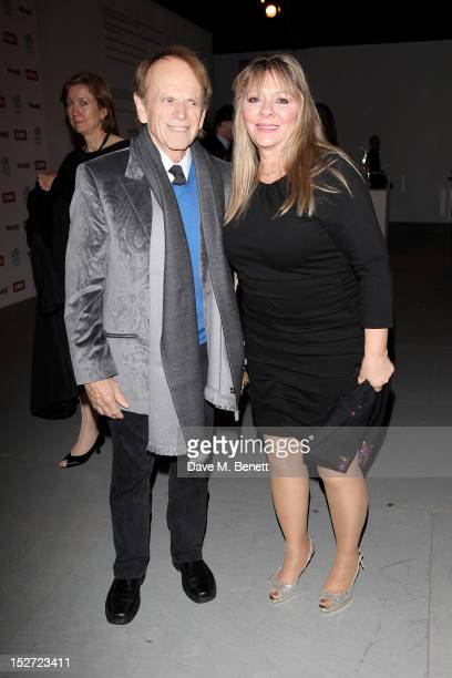 Beach Boy Al Jardine and Mary Anne Jardine arrive at the EMI Music Sound Foundation fundraiser at Somerset House on September 24 2012 in London...