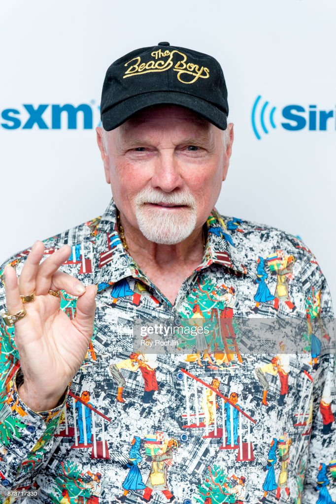 Beach Boy Mike Love visits SiriusXM at SiriusXM Studios on November 13, 2017 in New York City.