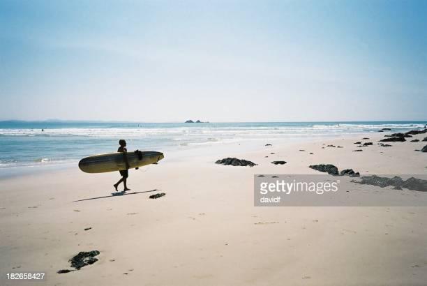 Garçon sur la plage