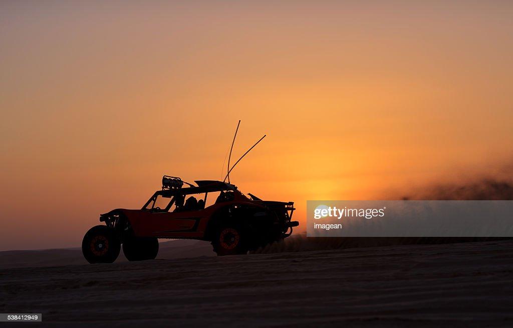Beach Buggy - Desert - Qatar : Stock Photo