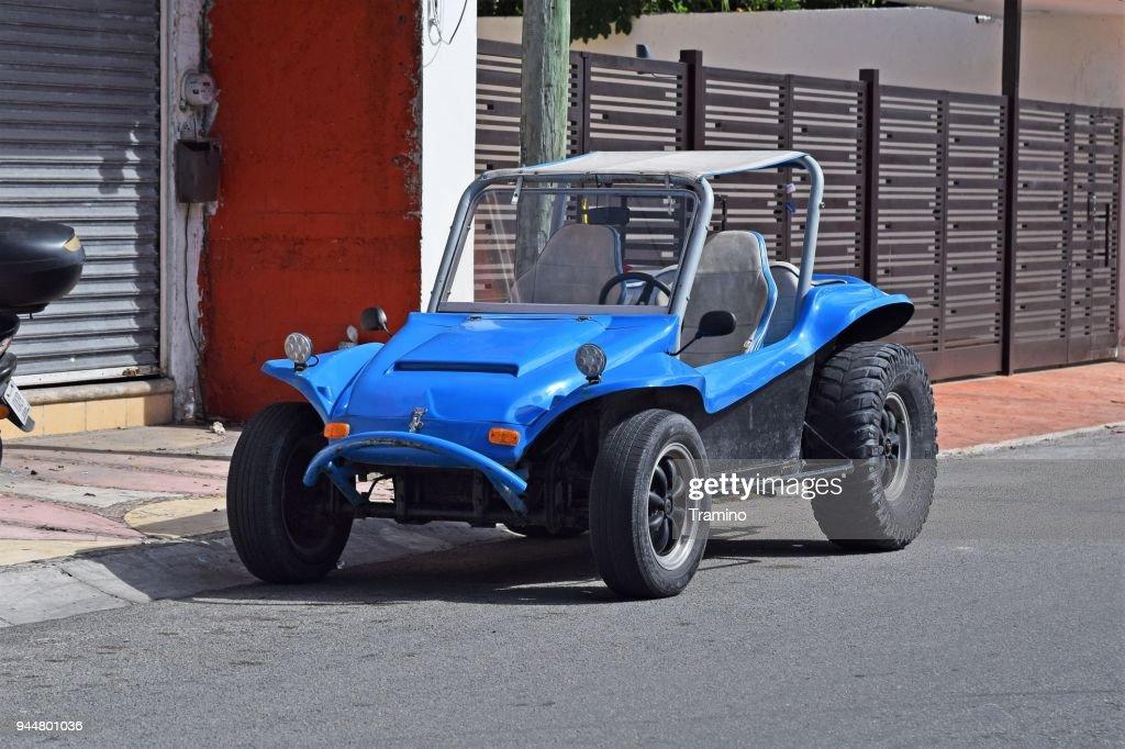 Beach buggy vehicle on the street : Stock Photo