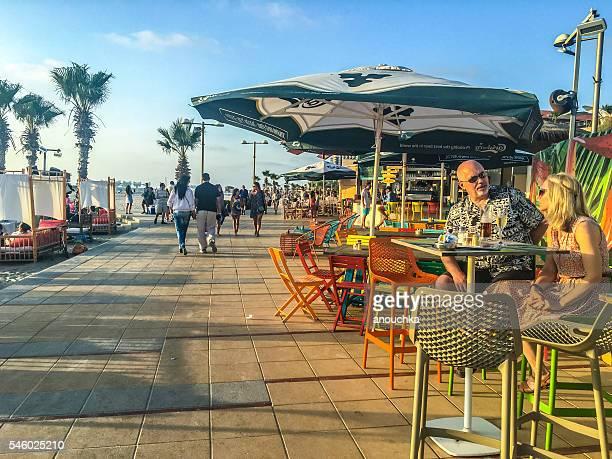 Beach Cafe in Herzliya, Israel
