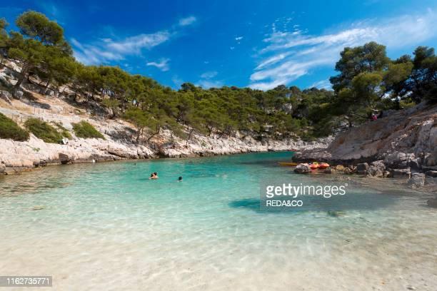 Beach Calanque de Port Pin Cassis Provence France