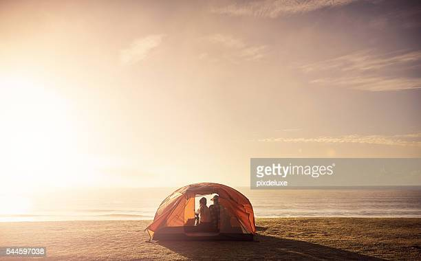 Beach camping is the best thing to do in summer