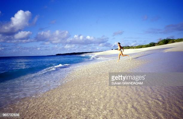 Beach Caribbean British West Indies Anguilla Island