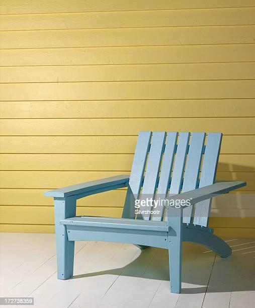 Beach Chair on Porch
