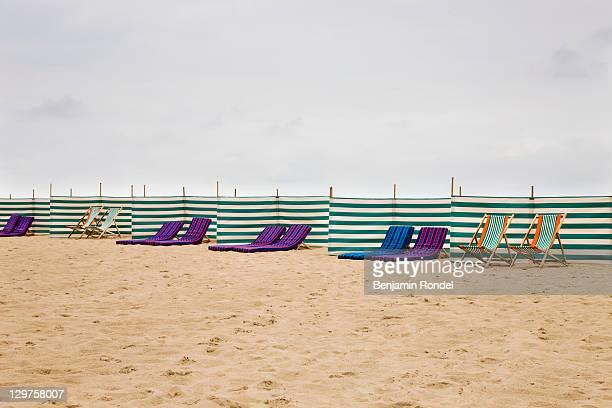 Beach chairs, Belgium