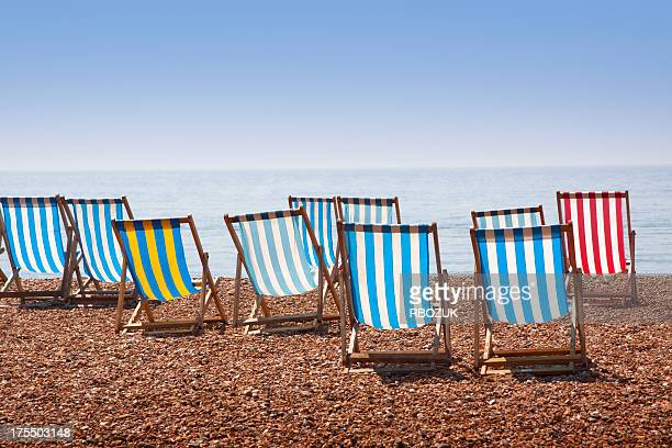 Beach Chairs in Morning Light