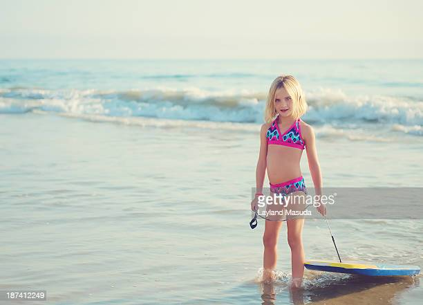 oc beach child - six girl stock photos and pictures