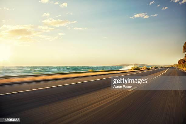Beach coast Road