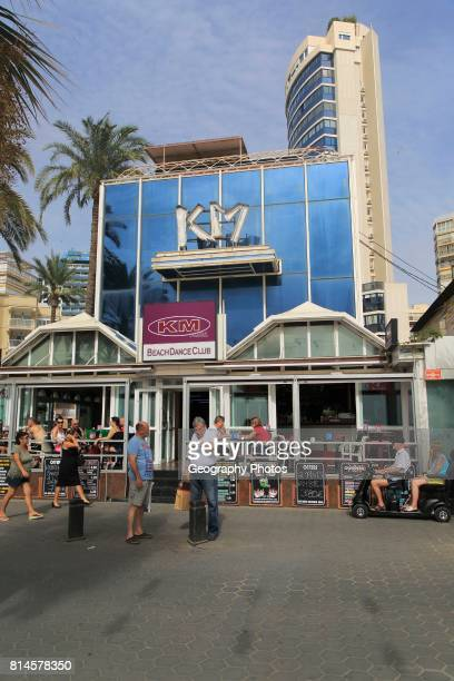 KM Beach Dance Club Levante beach Benidorm Alicante province Spain