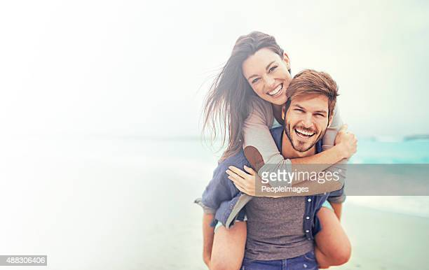 beach date! - young couples stock pictures, royalty-free photos & images