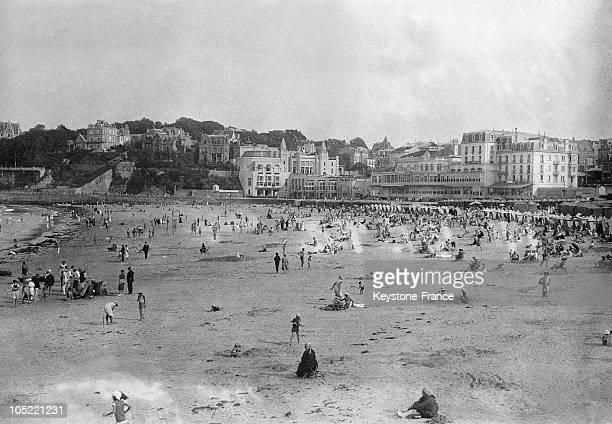 Beach Dinard 19301935