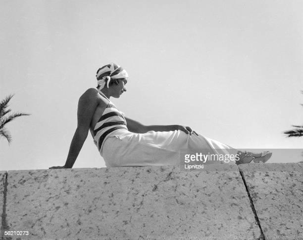 Beach dress Biarritz 1933