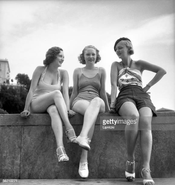 Beach dress MonteCarlo 1934