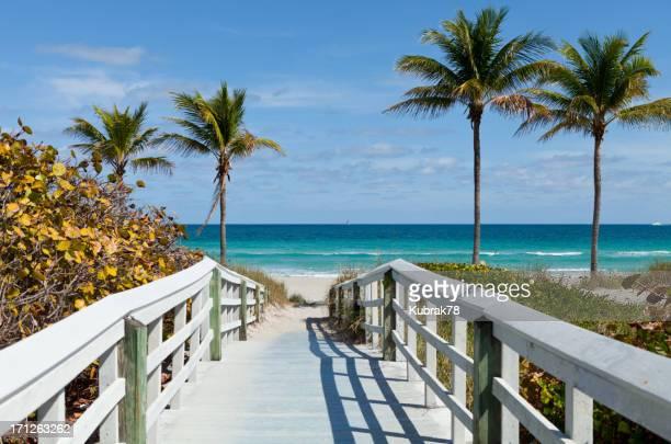 Beach Entrance, Florida