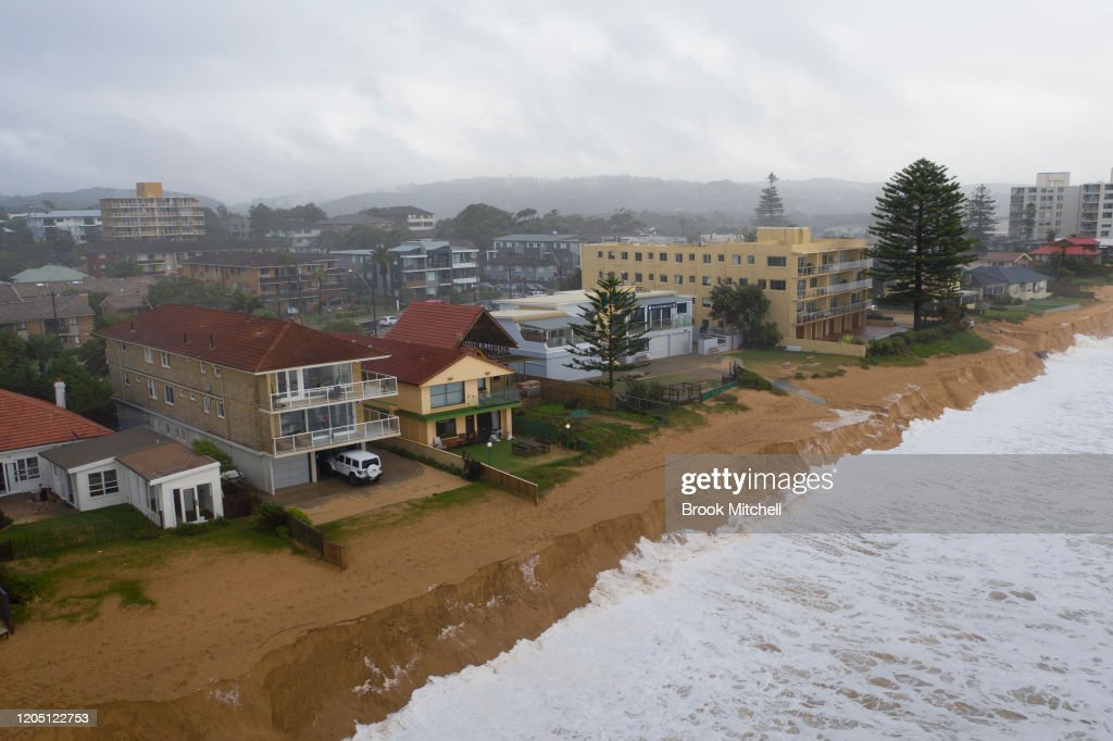 More Sydney Storms Forecast Following Weekend Of Torrential Rain And Flooding : News Photo