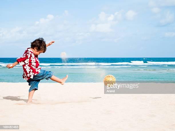 Calcio sulla spiaggia