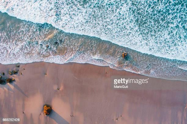 Au-dessus de la plage