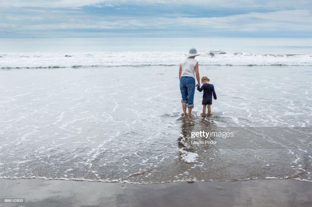Beach fun : Stock Photo