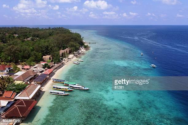 Beach, Gili Meno, Lombok, Indonesia
