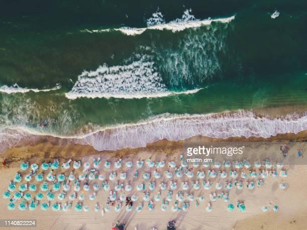 strandurlaub - bulgarien stock-fotos und bilder