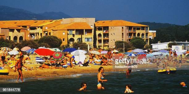 vacances à la plage au sud de la france Méditerranée Côte d'Azur