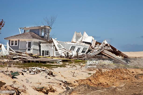 Beach House Destroyed