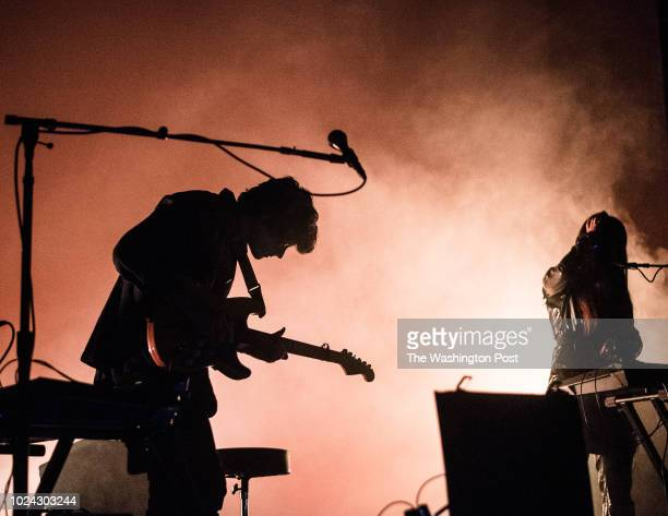 Beach House performs at The Anthem Saturday night Pictured Alex Scally Victoria Legrand