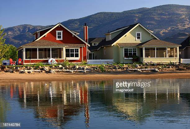 Beach Houses on the Lake in The Thompson Okanagan