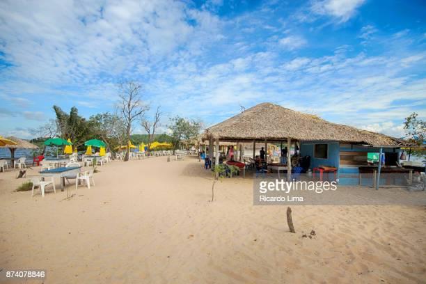 Beach Hut, Alter do Chao, Brazil