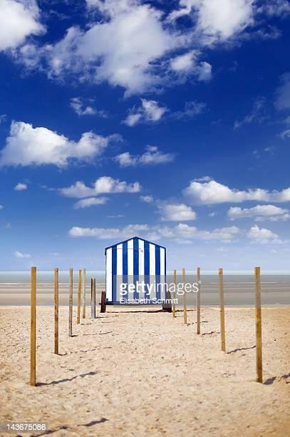 Beach hut /beach cabin on wheels