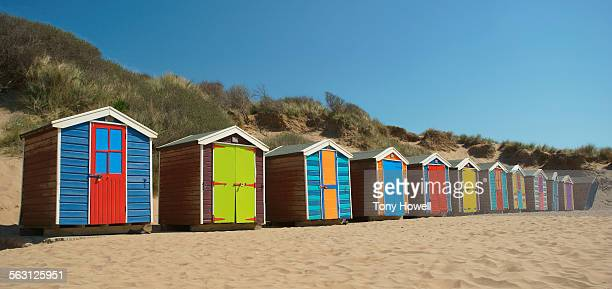 Beach Huts and Dunes, Saunton