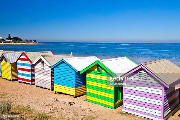 Beach Huts of Brighton Beach