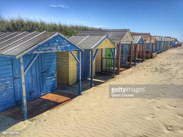 Beach huts of West Wittering