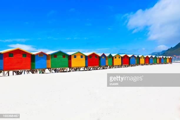 Cabañas en la playa