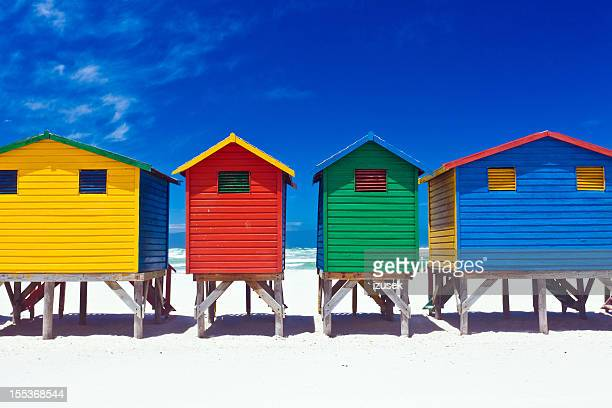 Beach hut stock photos and pictures getty images for Beach hut style