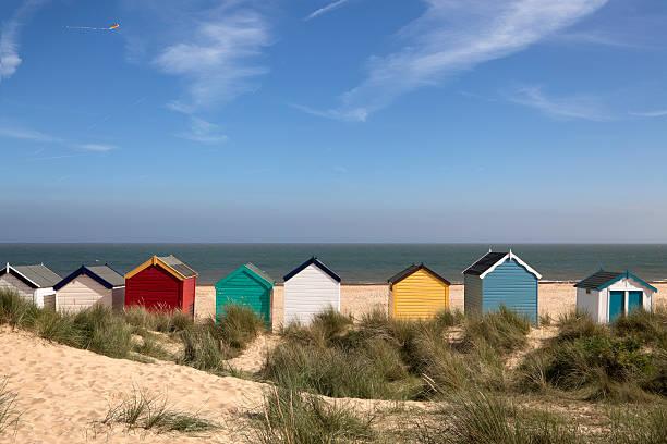 """Beach Huts, Southwold, East Anglia (XXXL)"" Wall Art"