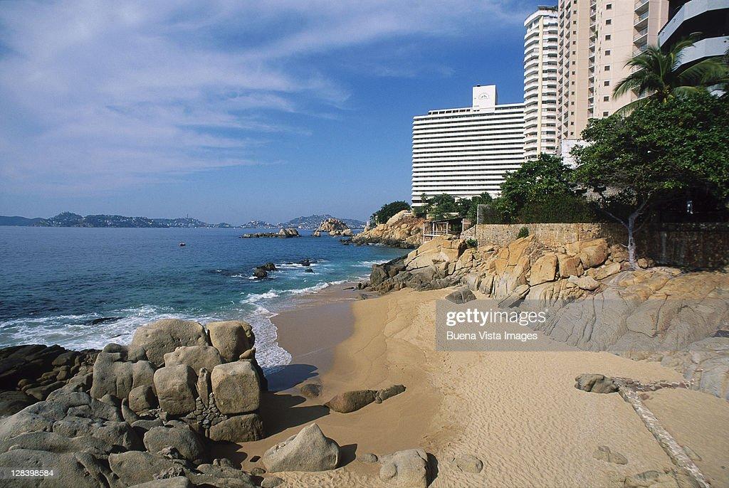 Beach in Acapulco, Mexico : Stock Photo