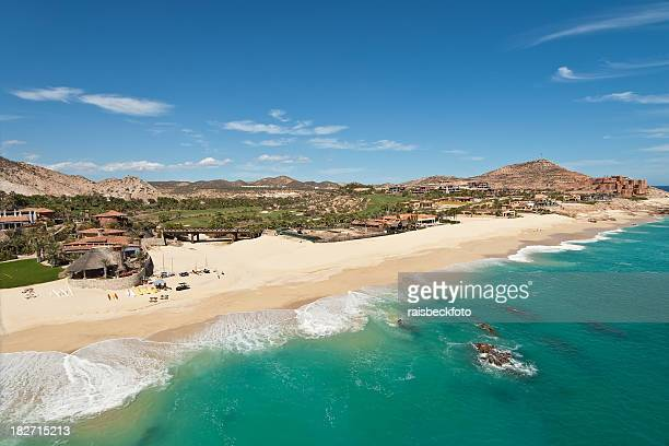 beach in cabo san lucas, mexico - sea of cortez stock pictures, royalty-free photos & images