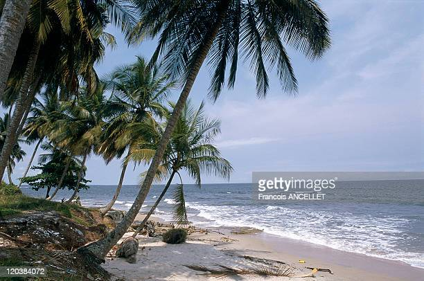 Beach in Equatorial Guinea